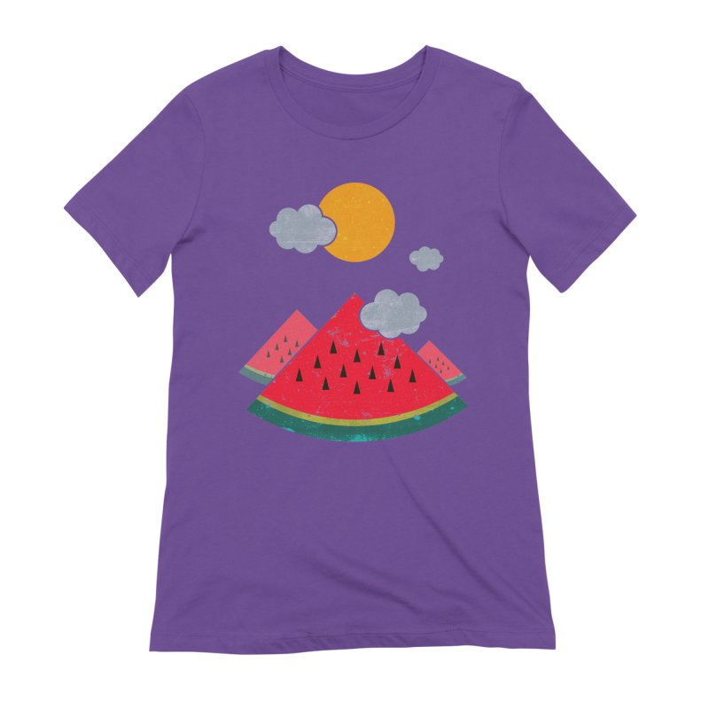eatventure time! Women's Extra Soft T-Shirt by muag's Artist Shop