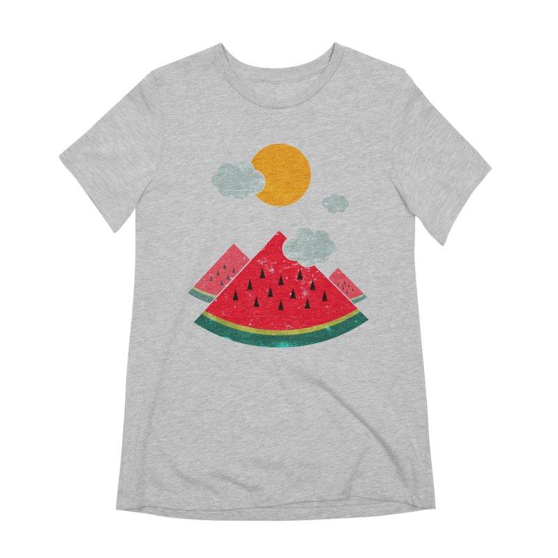 eatventure time! Women's Extra Soft T-Shirt by muag's Artist Shop