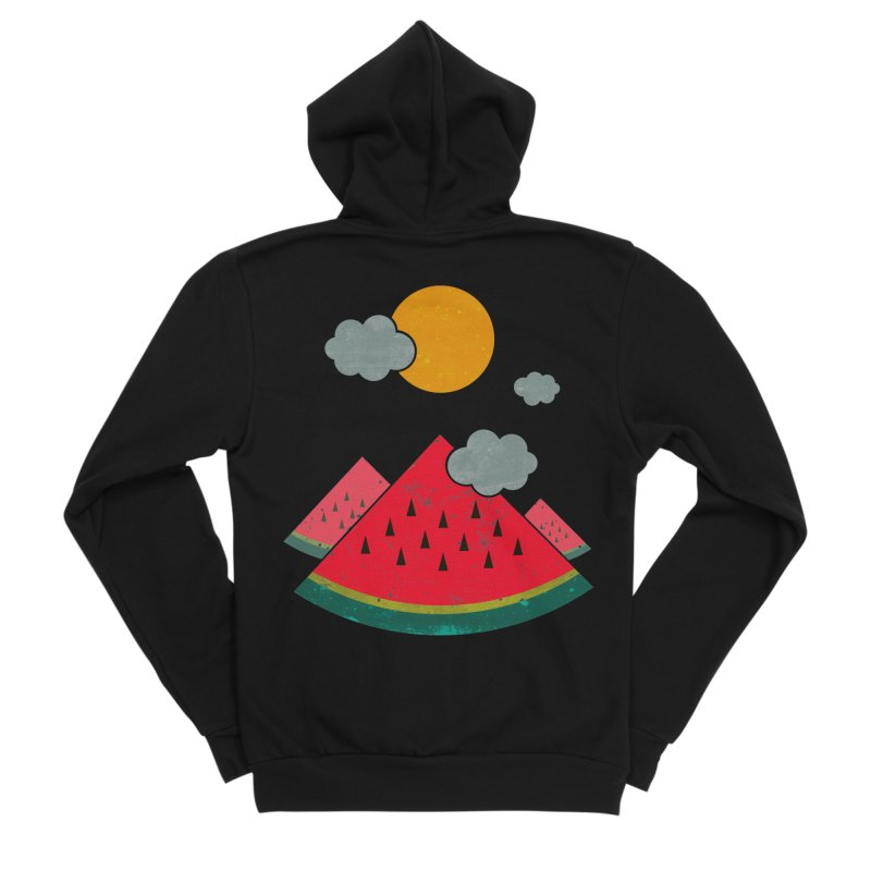 eatventure time! Women's Sponge Fleece Zip-Up Hoody by muag's Artist Shop