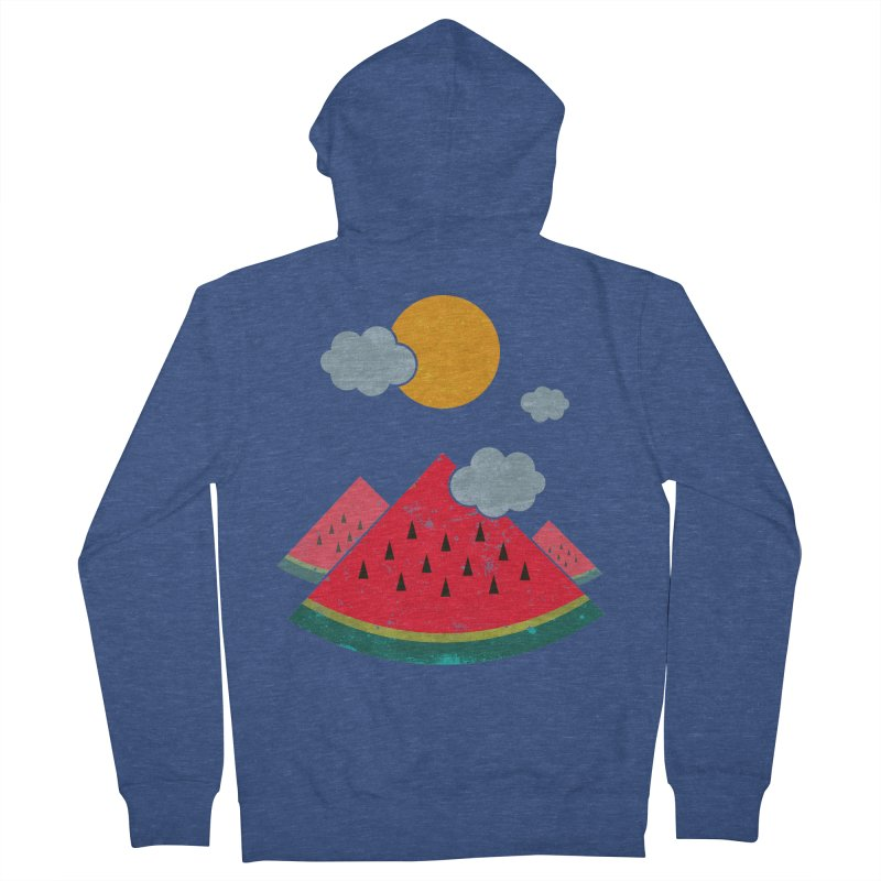eatventure time! Women's French Terry Zip-Up Hoody by muag's Artist Shop