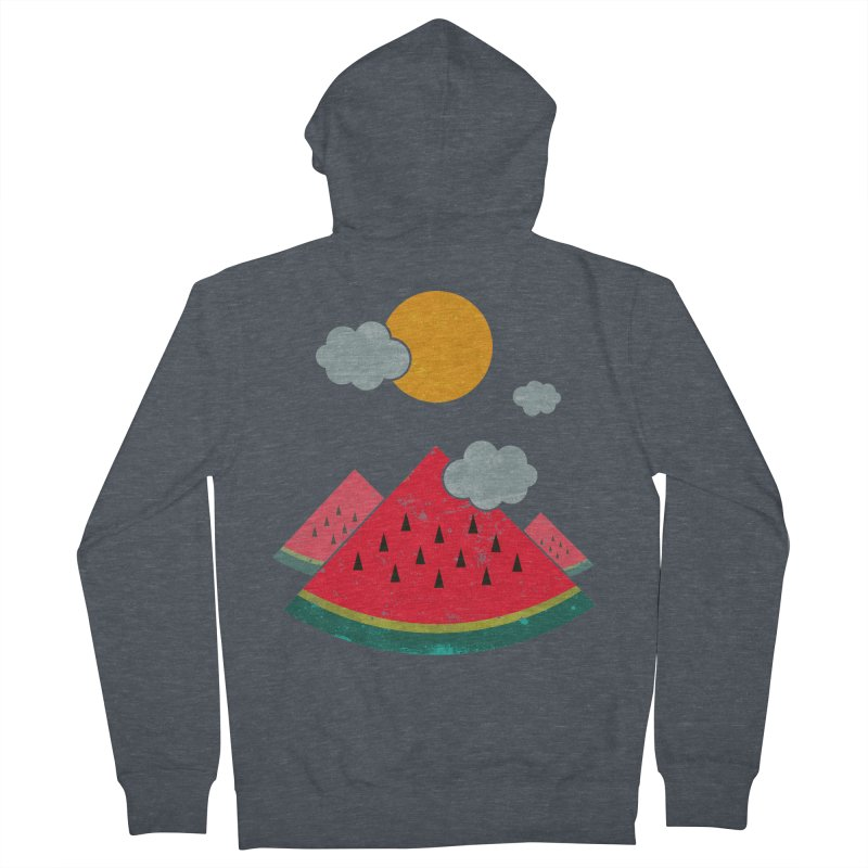 eatventure time! Men's Zip-Up Hoody by muag's Artist Shop