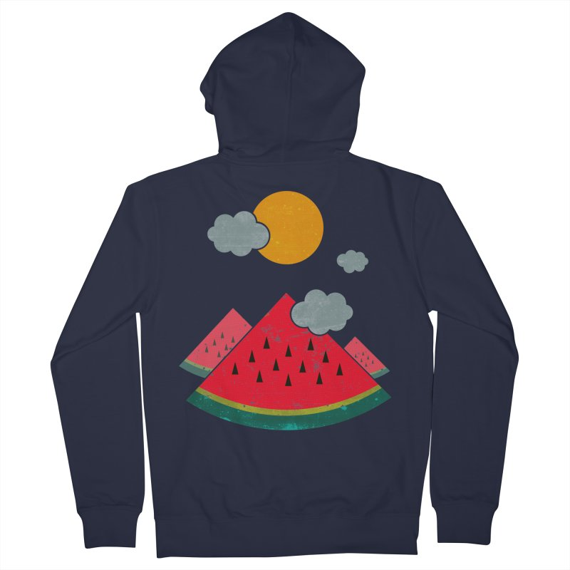 eatventure time! Men's French Terry Zip-Up Hoody by muag's Artist Shop