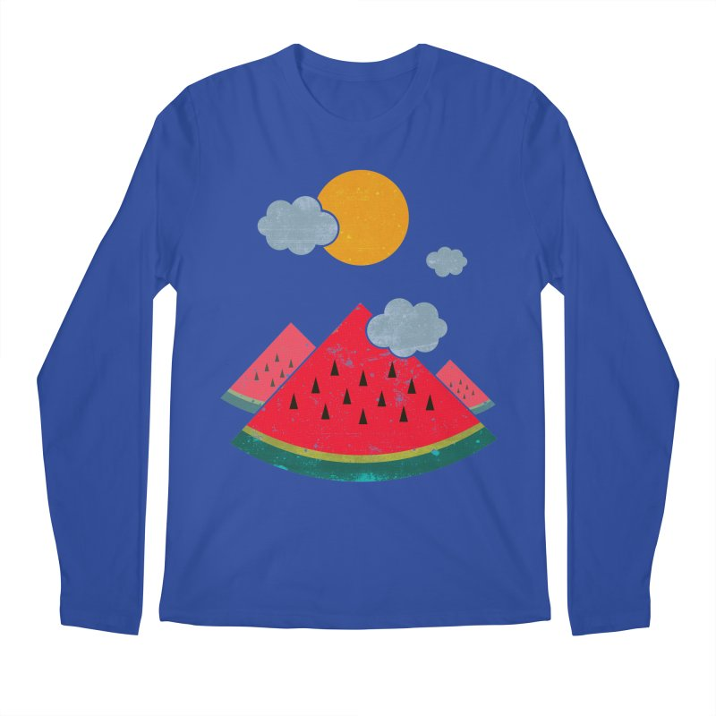 eatventure time! Men's Regular Longsleeve T-Shirt by muag's Artist Shop