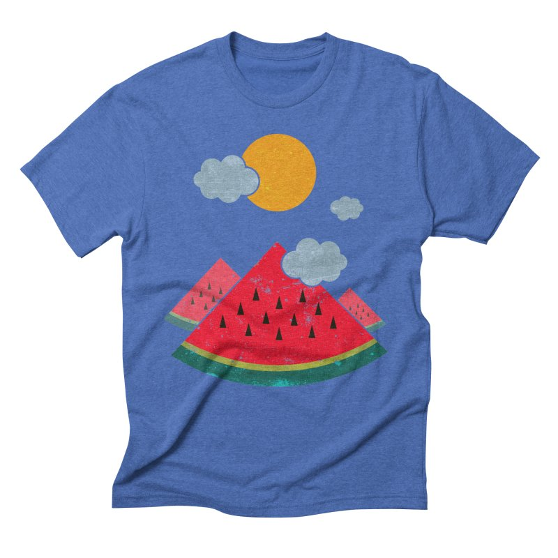eatventure time! Men's Triblend T-shirt by muag's Artist Shop