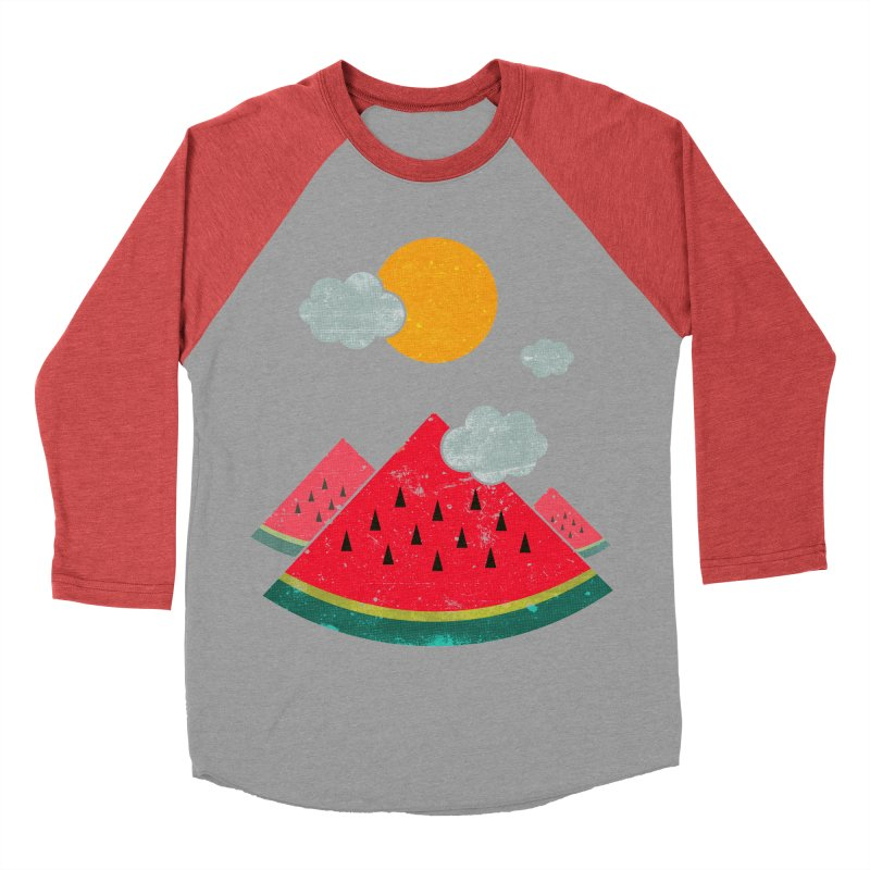eatventure time! Men's Baseball Triblend Longsleeve T-Shirt by muag's Artist Shop