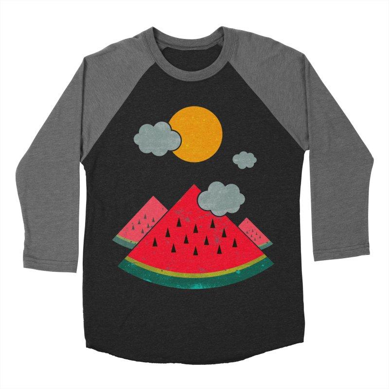 eatventure time! Men's Baseball Triblend T-Shirt by muag's Artist Shop