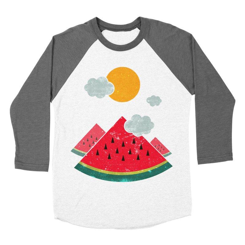 eatventure time! Men's Baseball Triblend Longsleeve T-Shirt by muag's Artist Shop