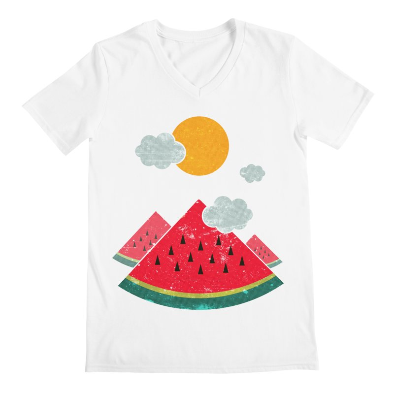 eatventure time! Men's Regular V-Neck by muag's Artist Shop