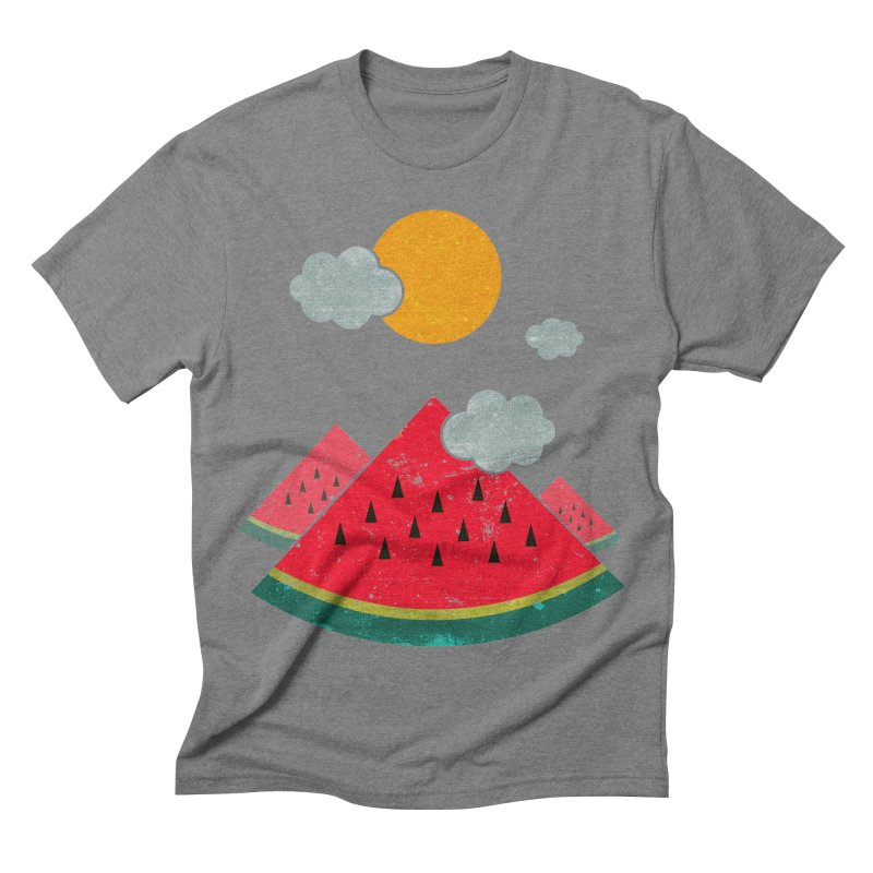 eatventure time! Men's Triblend T-shirt by muag's Artist Shop