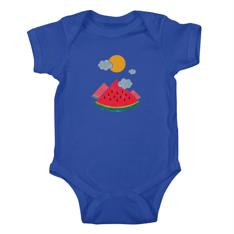 eatventure time! Kids Baby Bodysuit by muag's Artist Shop