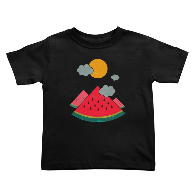 eatventure time! Kids Toddler T-Shirt by muag's Artist Shop