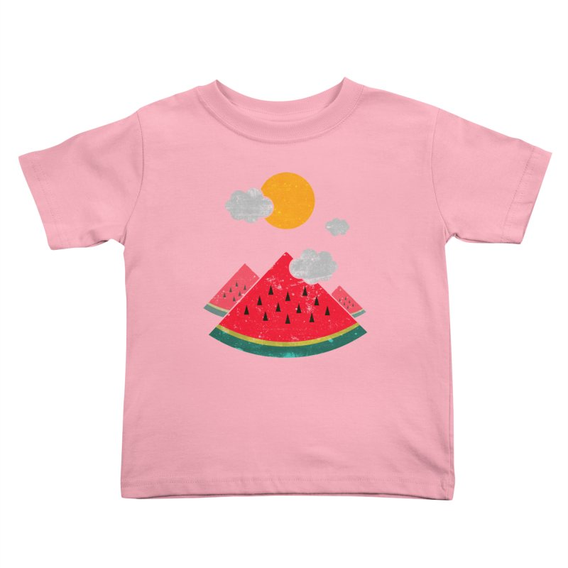 eatventure time! Kids Toddler T-Shirt by muag's Artist Shop