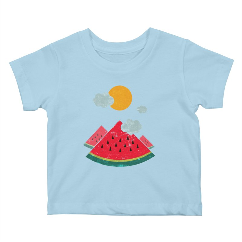 eatventure time! Kids Baby T-Shirt by muag's Artist Shop