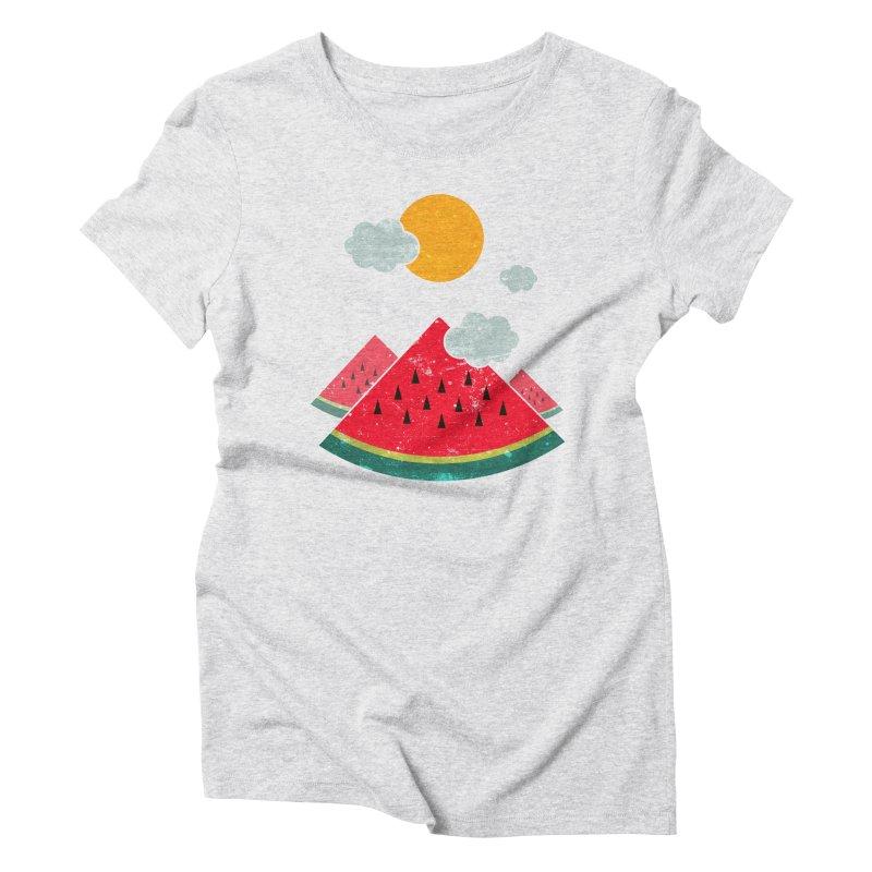 eatventure time! Women's T-Shirt by muag's Artist Shop