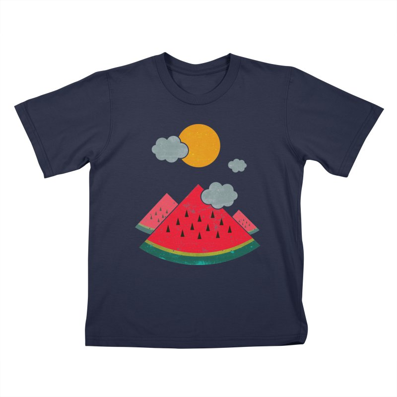 eatventure time! Kids T-Shirt by muag's Artist Shop