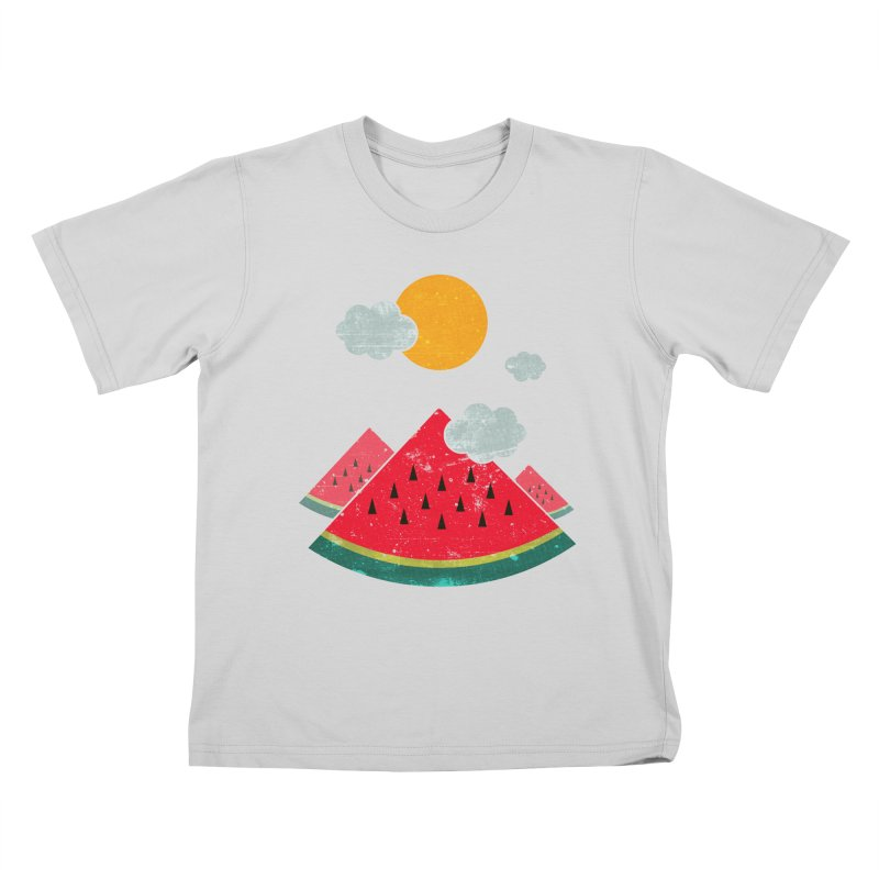 eatventure time! Kids T-Shirt by muag's Artist Shop