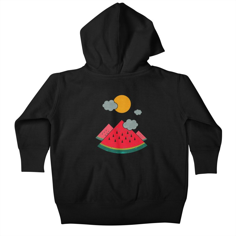 eatventure time! Kids Baby Zip-Up Hoody by muag's Artist Shop