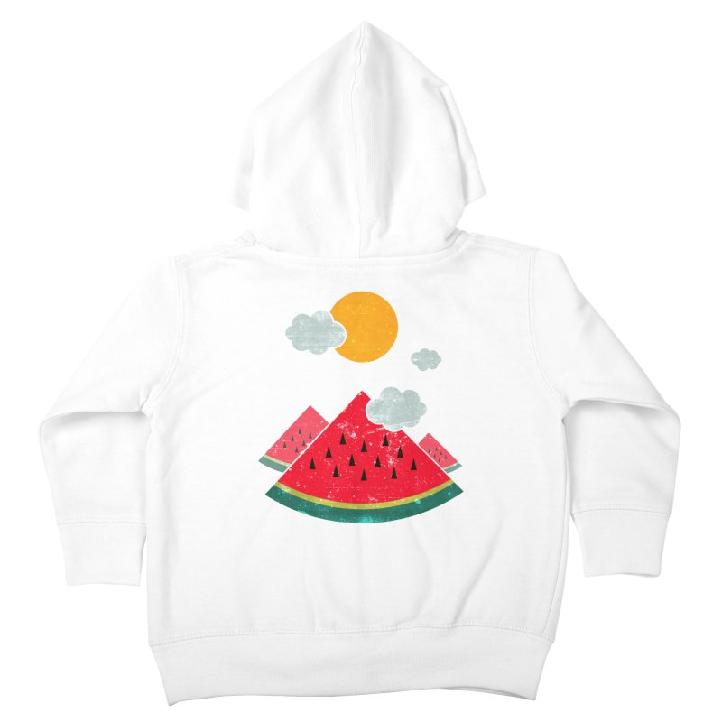 eatventure time! Kids Toddler Zip-Up Hoody by muag's Artist Shop