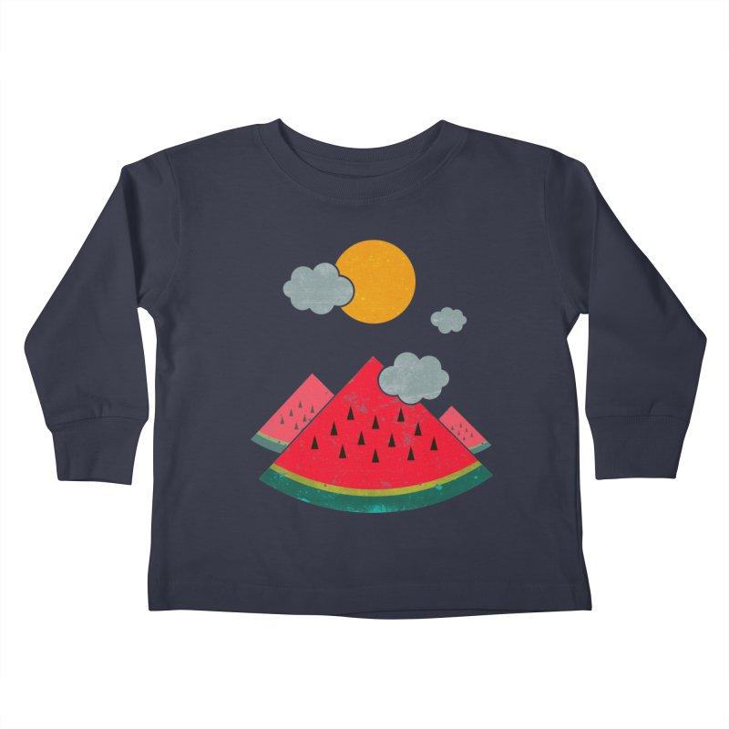 eatventure time! Kids Toddler Longsleeve T-Shirt by muag's Artist Shop