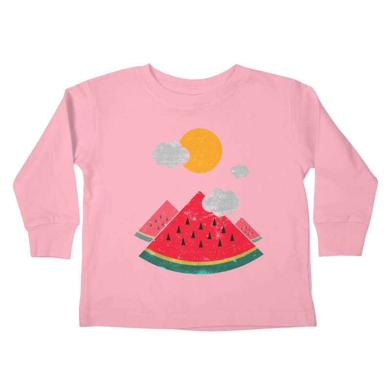 eatventure time! Kids Toddler Longsleeve T-Shirt by muag's Artist Shop