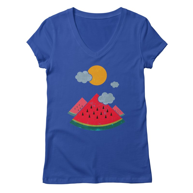 eatventure time! Women's Regular V-Neck by muag's Artist Shop