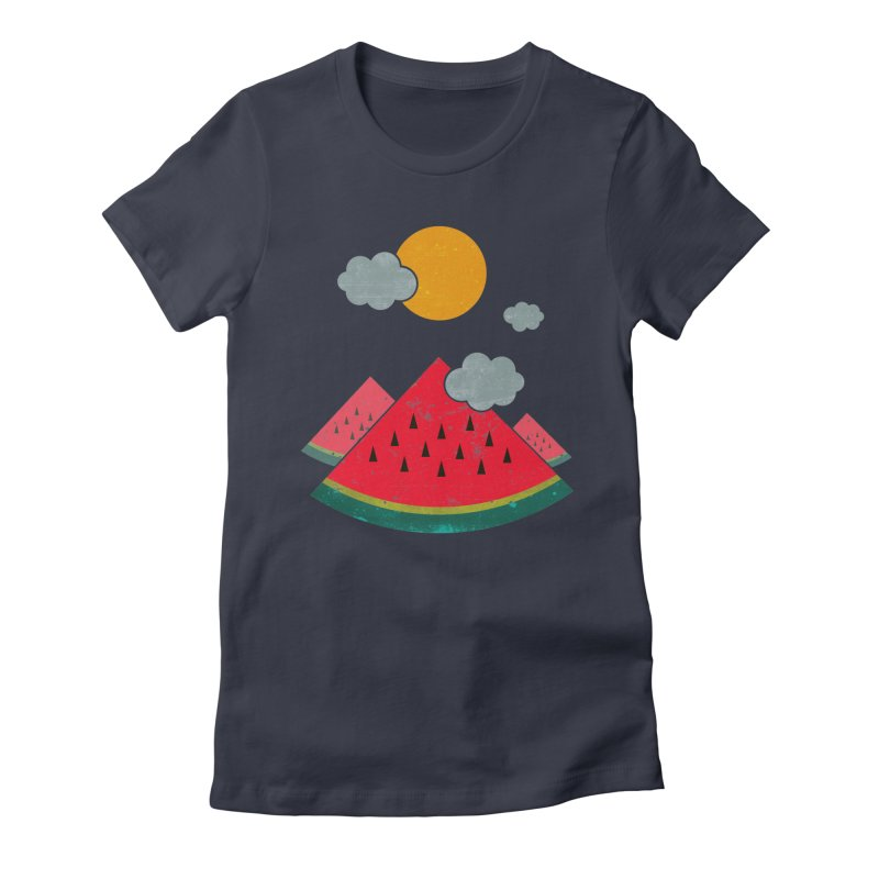 eatventure time! Women's Fitted T-Shirt by muag's Artist Shop