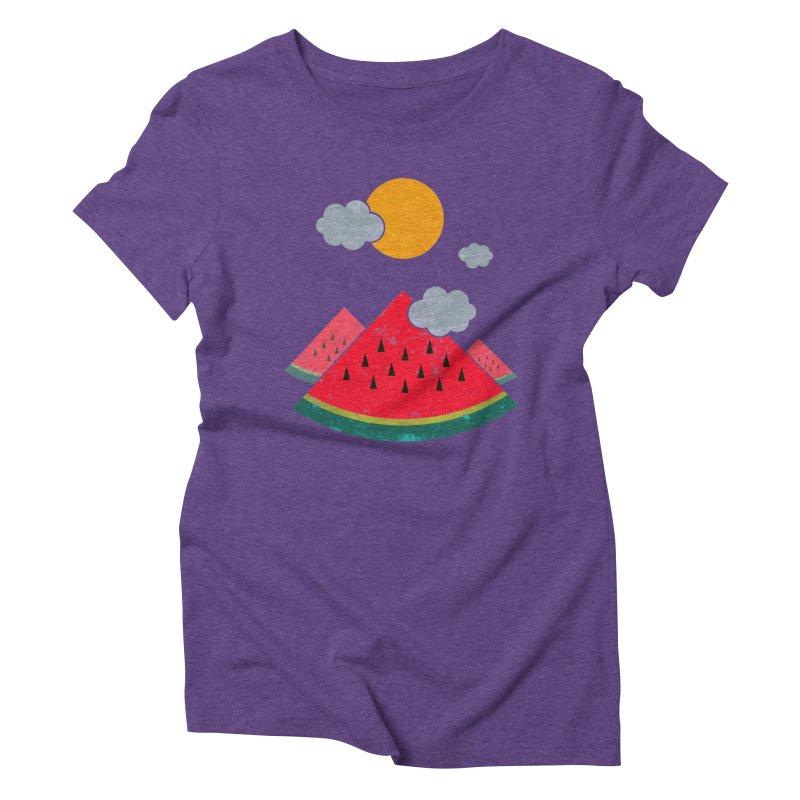 eatventure time! Women's Triblend T-Shirt by muag's Artist Shop