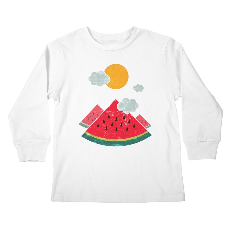 eatventure time! Kids Longsleeve T-Shirt by muag's Artist Shop