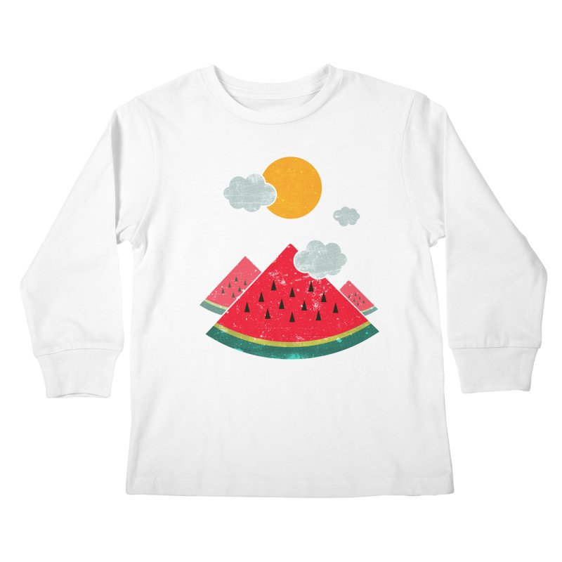 eatventure time! Kids Longsleeve T-Shirt by muag's Artist Shop