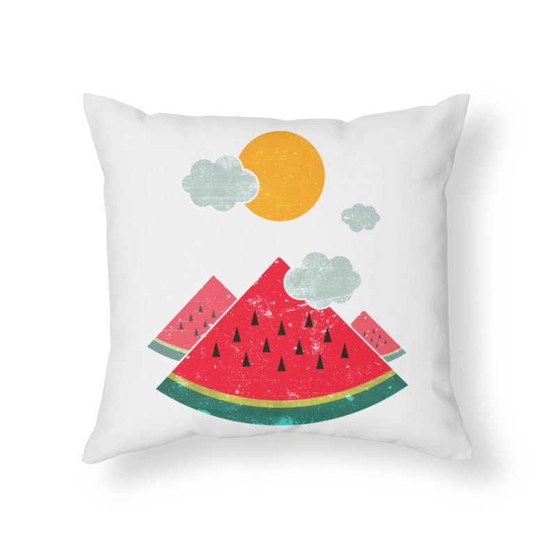 eatventure time! Home Throw Pillow by muag's Artist Shop