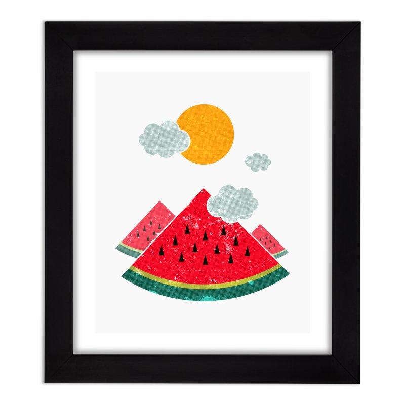 eatventure time! Home Framed Fine Art Print by muag's Artist Shop