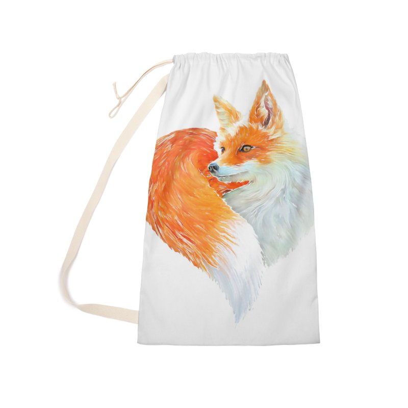 love foxes Accessories Laundry Bag Bag by muag's Artist Shop