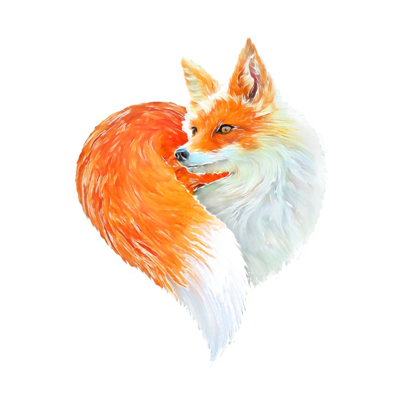 love foxes Women's T-Shirt by muag's Artist Shop