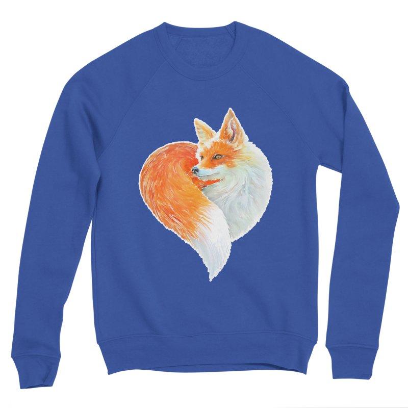 love foxes Men's Sweatshirt by muag's Artist Shop