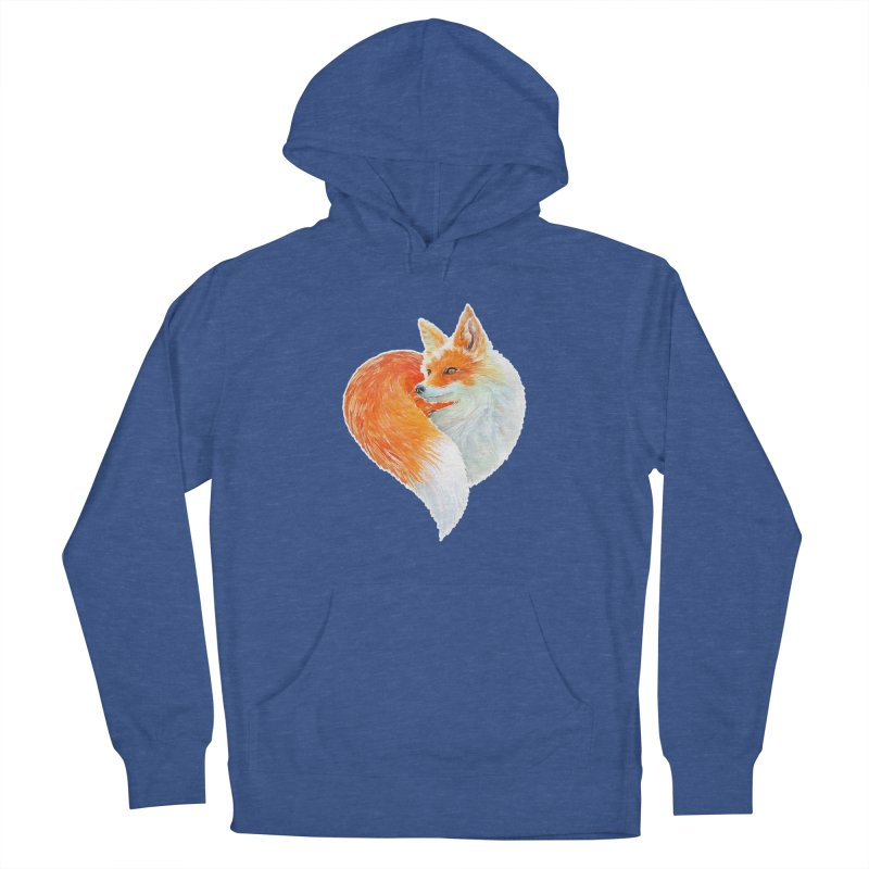love foxes Women's Pullover Hoody by muag's Artist Shop