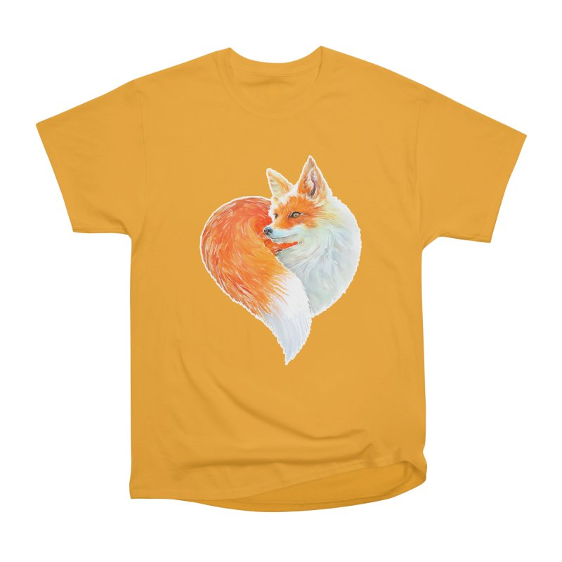 love foxes Women's Heavyweight Unisex T-Shirt by muag's Artist Shop