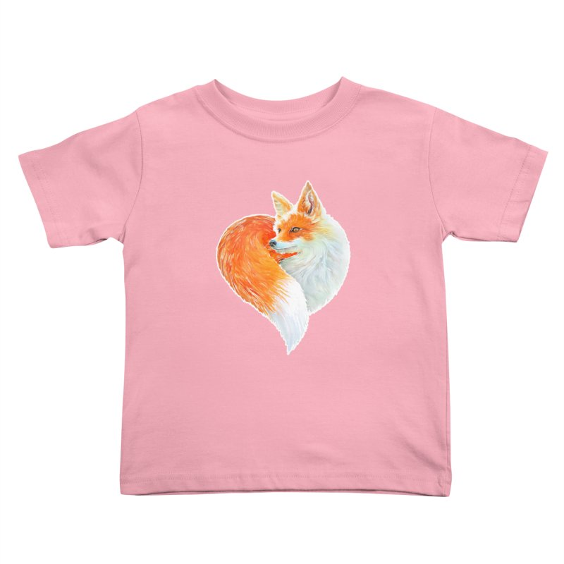 love foxes Kids Toddler T-Shirt by muag's Artist Shop