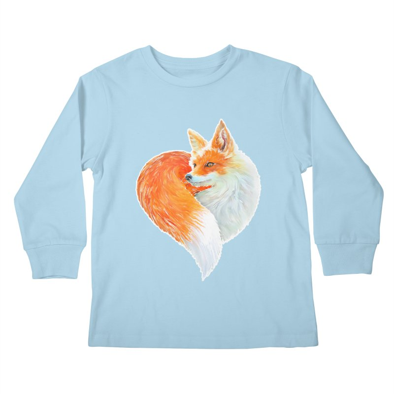 love foxes Kids Longsleeve T-Shirt by muag's Artist Shop