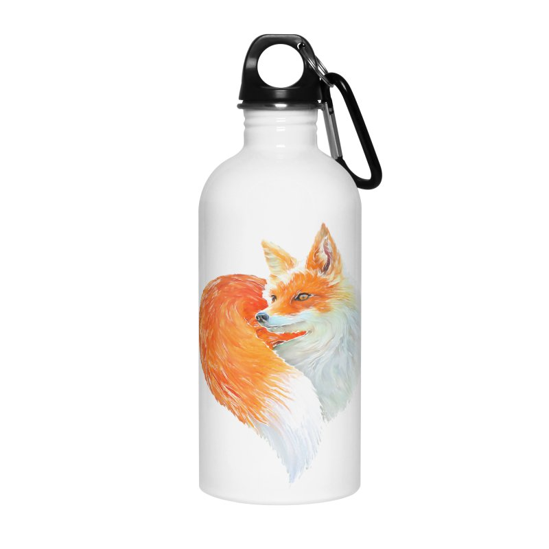 love foxes Accessories Water Bottle by muag's Artist Shop