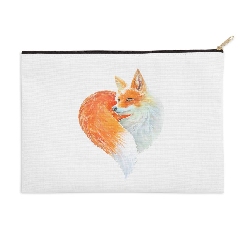 love foxes Accessories Zip Pouch by muag's Artist Shop