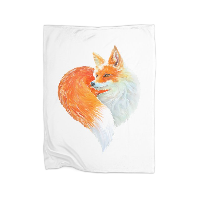 love foxes Home Blanket by muag's Artist Shop