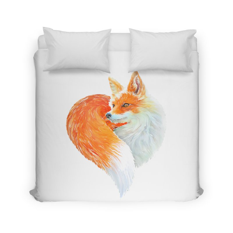 love foxes Home Duvet by muag's Artist Shop