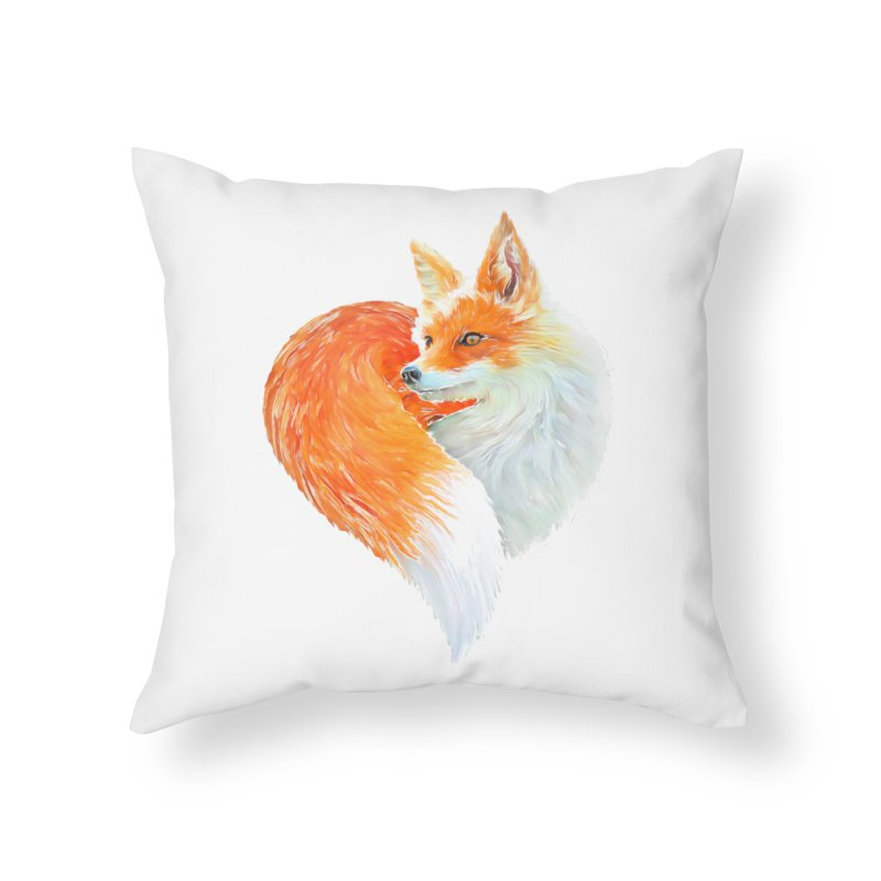 love foxes Home Throw Pillow by muag's Artist Shop