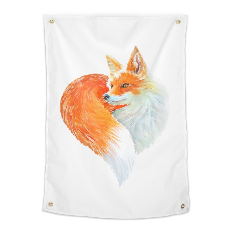 love foxes Home Tapestry by muag's Artist Shop