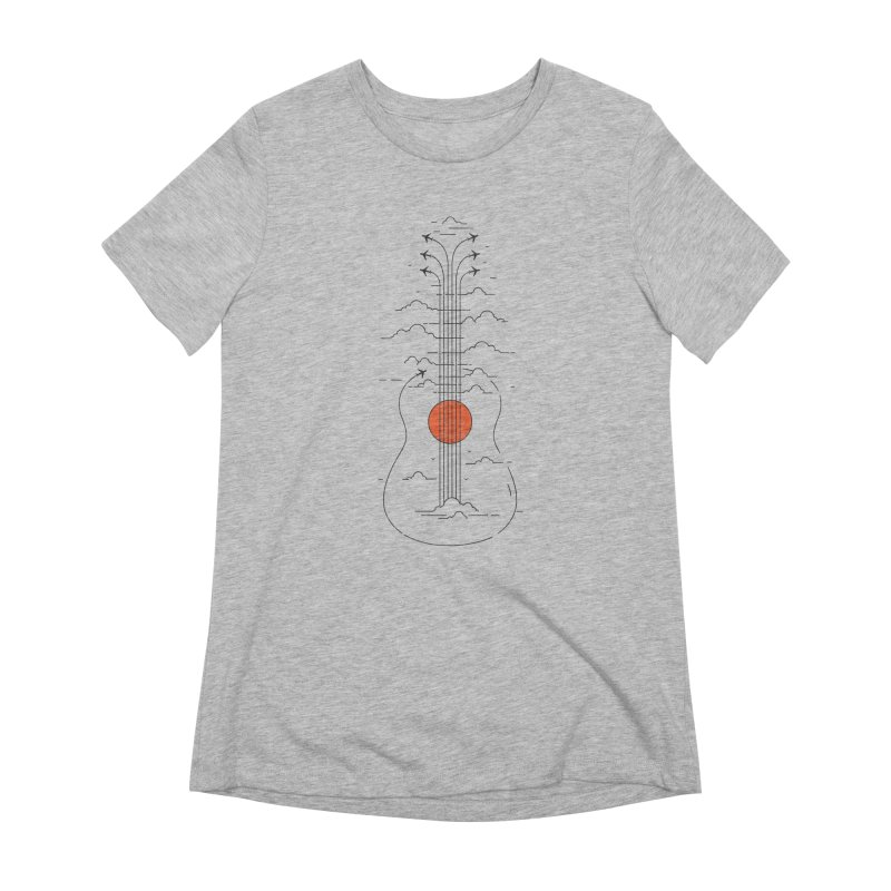 air show Women's Extra Soft T-Shirt by muag's Artist Shop