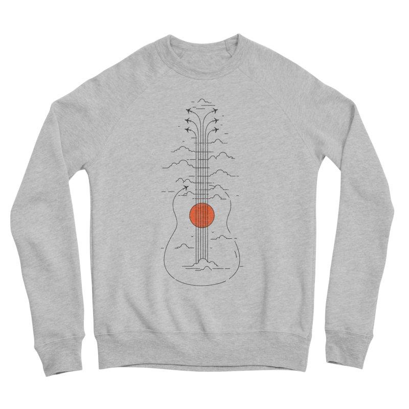 air show Women's Sponge Fleece Sweatshirt by muag's Artist Shop