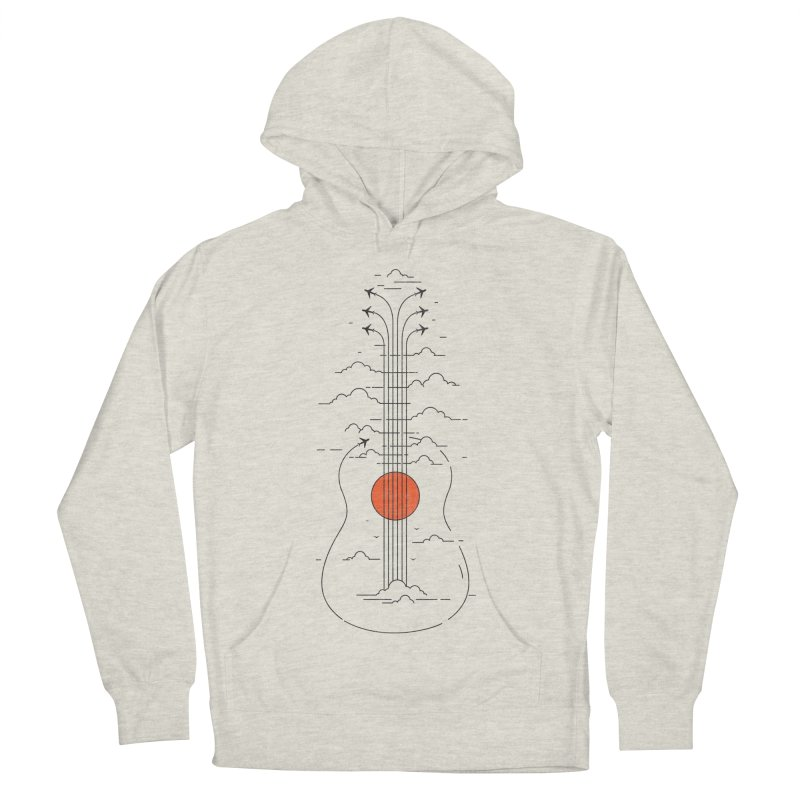 air show Women's French Terry Pullover Hoody by muag's Artist Shop