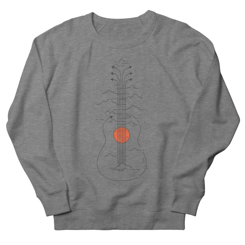 air show Women's French Terry Sweatshirt by muag's Artist Shop