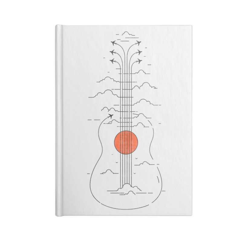 air show Accessories Notebook by muag's Artist Shop