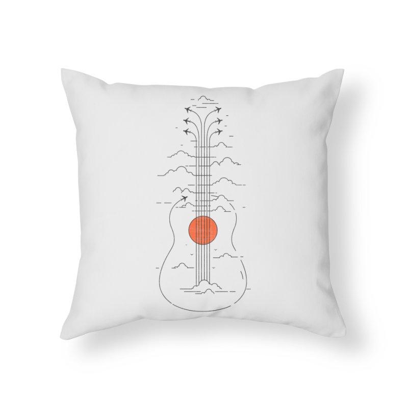 air show Home Throw Pillow by muag's Artist Shop